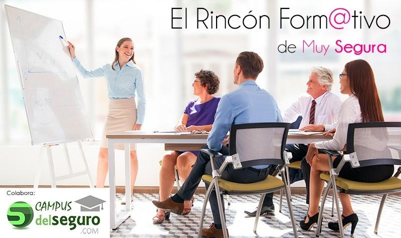"""Nace """"El Rincón Formativo"""" de Muy Segura, con la colaboración de Campus del Seguro"""