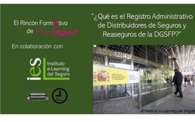 Píldora Formativa: ¿Qué es el Registro Administrativo de Distribuidores de Seguros y Reaseguros de la DGSFP?